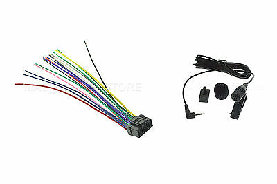 alpine wiring harness color wire harness   mic for alpine ute 73bt ute73bt  pay today ships  wire harness   mic for alpine ute 73bt