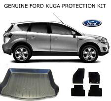 ORIGINALE FORD KUGA 08-12 Protezione Pack Set di 4 tappetini & boot-liner ANTI SLIP MAT