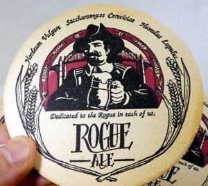 Rogue-Ale-Bar-Coaster-Beer-lot-3-Free-Shipping-USA