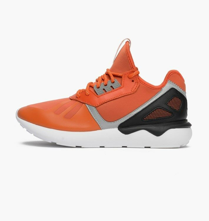 NEW MEN'S ADIDAS ORIGINALS TUBULAR RUNNER 3M [B25524]  COLL orange BLACK-WHITE