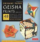 Origami Paper Geisha Prints Small Tuttle Publishing 080484481x
