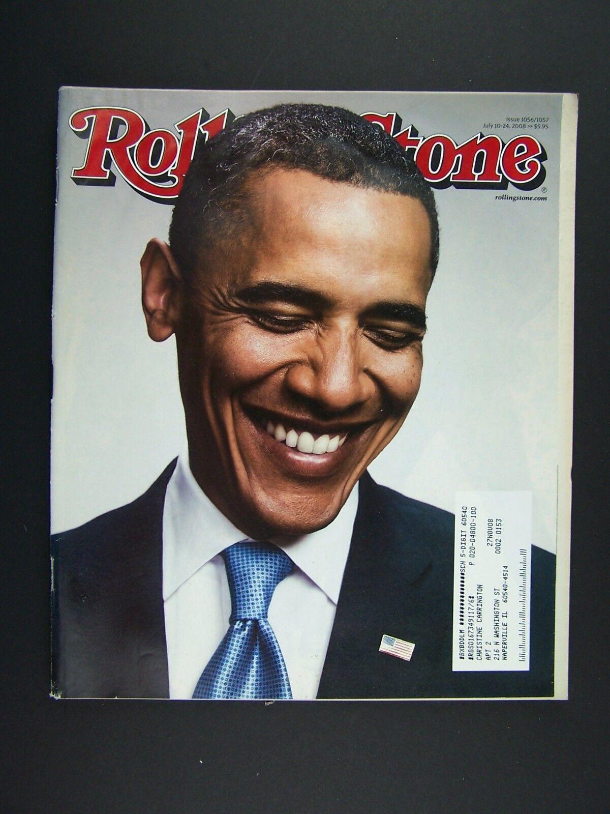Rolling Stone Magazine Issue 1056 July 10-24 2008 Barac
