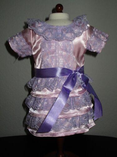 "1900/'s Victorian Pink Spring Dress Fits 18/"" American Girl Samantha Doll NIP"