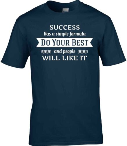 Succès T-shirt Motivation ne le meilleur de votre auto Amélioration Grand Cadeau