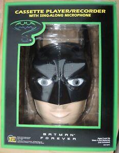 Lecteur Enregistreur De Cassettes Tète Batman Du Film Forever 1995