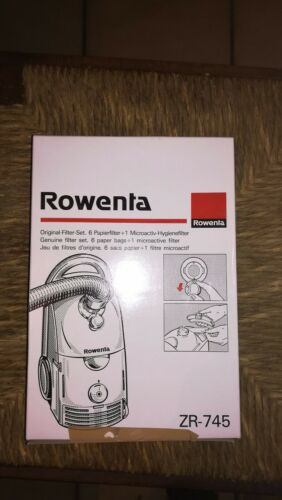 6 Sacs D/'Aspirateur pour Rowenta