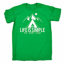 item 1 Life Is Simple Eat Sleep Camp T-SHIRT Hiking Camping Tent Funny Gift  Birthday -Life Is Simple Eat Sleep Camp T-SHIRT Hiking Camping Tent Funny  Gift ... 67e119df9