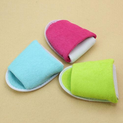 Women Men Disposable Hotel Open Toe Salon Spa Slippers Non-slip Travel Spa 36-43