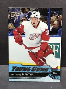2016-17 Upper Deck S1 Anthony Mantha Young Guns #213 YG Rookie RC Mint