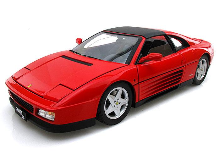Ferrari 348 TS rouge scale 1 18 ELITE Hotwheels NEW in Box