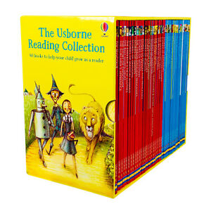 The-Usborne-Reading-Collection-40-Books-Gift-Box-Set-Early-Readers