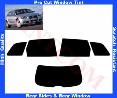 Pre Cut Window Tint Audi A3 5D 2004-2008 Rear Window /& Rear Sides Any Shade