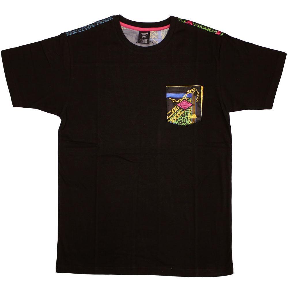 Crooks & Castles Regalia T-Shirt Schwarz