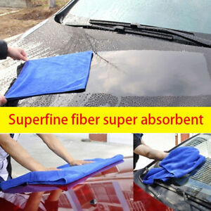 Big-amp-Thick-Microfiber-Towel-Car-Cleaning-Wash-Drying-Detailing-Cloth-60-160cm-AU