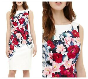 ex Phase Eight Cassia Floral Printed Textured Occasion Races Wedding ... da1b82086
