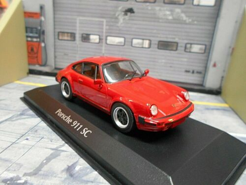 Porsche 911 SC 3.0 Coupe Rojo red 1979 G-modelo Minichamps maxichamps 1:43