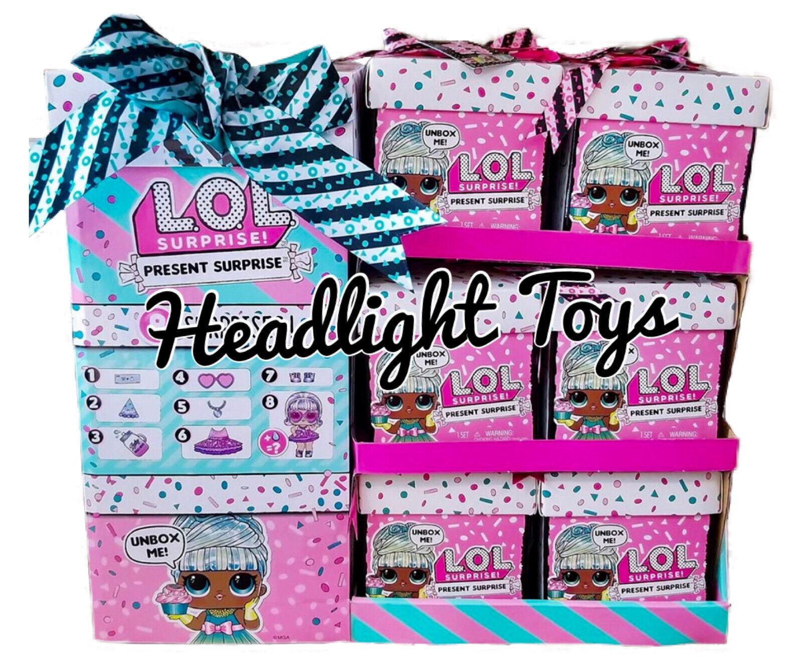 LOL Surprise Present RARE April Carats Big Sister Doll Birthday Gift Box Sealed