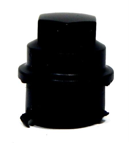 10 2010 CHEVY MALIBU 12X1.5 BLACK LUG NUT COVERS FOR HUBCAPS