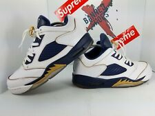 459a9bc695a2 item 2 Nike Air Jordan Retro 5 Low Dunk From Above Gold Navy White Size 11  819171-135 -Nike Air Jordan Retro 5 Low Dunk From Above Gold Navy White Size  11 ...