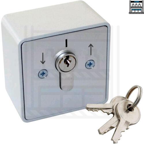 Volet roulant interrupteur à clé Trois touches Geba un remplacement équivalent Shop porte
