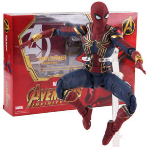 Shfiguarts-Avengers-Infinity-Krieg-Iron-Spider-MAN-PVC-Action-Figur-Modell-Spielzeug