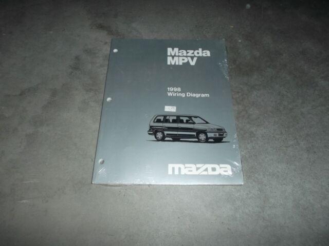 1998 Mazda Mpv Passenger Van Electrical Wiring Diagram