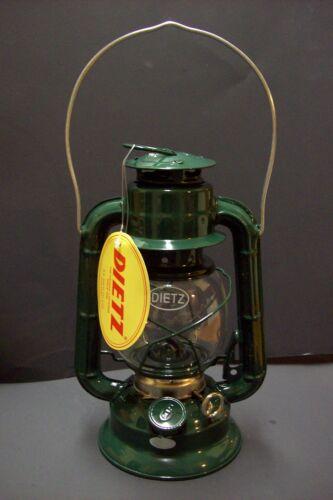 NEW GREEN DIETZ #50 COMET OIL KEROSENE LANTERN GREEN WITH GREEN TRIM 69867JB