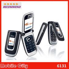 NOKIA 6131(UNLOCKED) FLIP PHONE QUAD BAND BLACK BLUETOOTH CELLULAR CELL PHONE