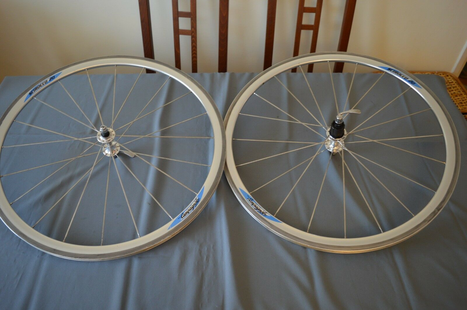 Campagnolo Scirocco 20 wheels wheelset 8 speed clincher