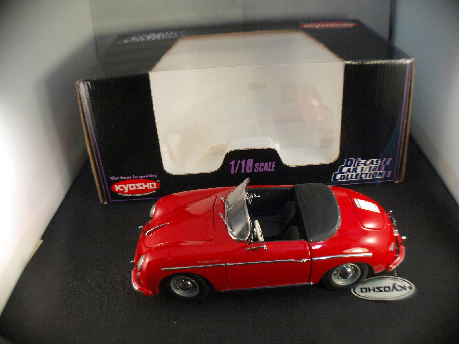 Kyosho 7007.9800 Porsche 356 356 356 a 1600 speedster 1   18 neu, Schachtel   Caja MIB 656