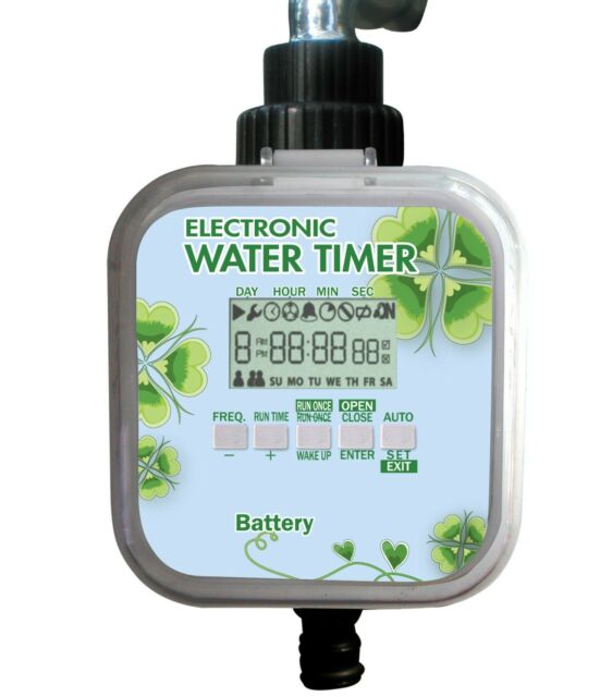 EL01 Easy LCD Electronic Water Timer(Ball Valve ,Solar&RainStop)