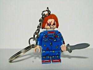 CHUCKY FAMILY CHILDS PLAY NOVELTY PHOTO KEYCHAIN