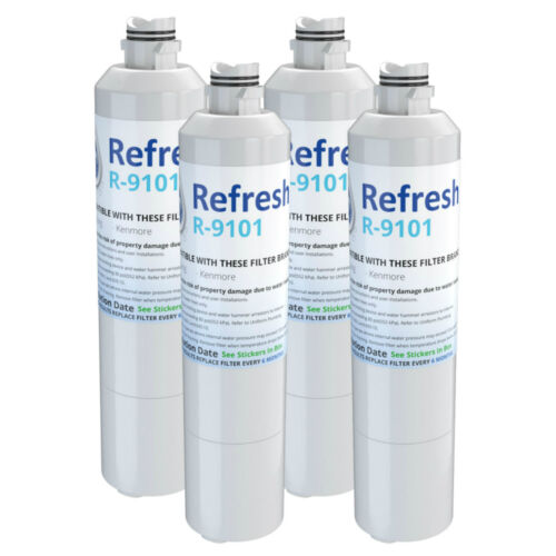 4 Pack Fits Samsung EFF-6027A Refrigerators Refresh Replacement Water Filter
