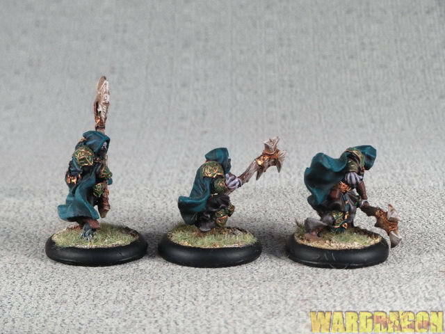 30mm 30mm 30mm Hordes WDS painted Circle Orbgolds Druids of Orbgolds r51 450097