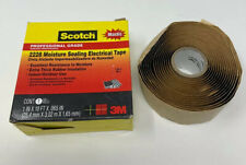 Scotch Rubber Mastic Tape 2228 1 In X 10 Ft Black Moisture Sealing Electrical