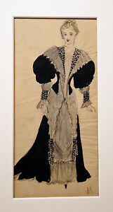 ROGER the shame-projects COSTUMES-drawings originals- ANNETTE SARRADIN-1945/46