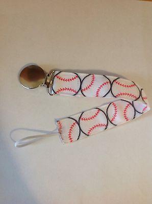 Baby Boy Girl Pacifier Clip Holder Leash San Diego Padres Baseball