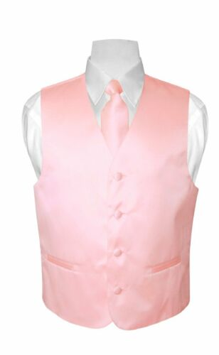 BOY/'S Dress Vest and Boys NeckTie Solid Color Neck Tie Set for Suit or Tuxedo