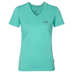 Amical Jack Wolfskin Femme Crosstrail Randonnée Exercice Wicking T-shirt Bleu Xs S-afficher Le Titre D'origine