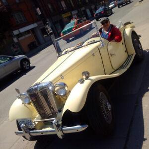 1952 MG T-Series TD - ROADSTER