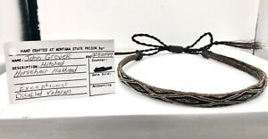 Hitched-Horsehair-Hatband-Deer-Lodge-Montana