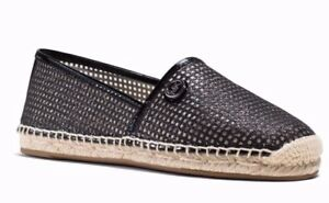 1384a6dd94 New Michael Kors Kendrick Slip-on Espadrille Flats Mesh perforated ...