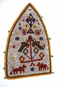 Indian-Beautiful-traditional-Wall-Hanging-Vintage-look-Decoration-i17-353-AU
