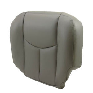 2003-2004-2005-2006-Chevy-Tahoe-Suburban-Driver-Bottom-Seat-Cover-Gray