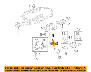 TOYOTA-OEM-07-11-Camry-Instrument-Panel-Dash-Compartment-5530106010E0