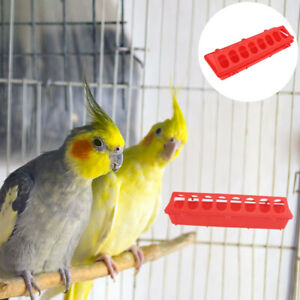 2PCS Pigeon Cage Food Trough Pigeon Long Food Trough for Bird Pigeon Store