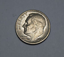 One Dime United States of America Coin 1967 Münze TOP! (D3)
