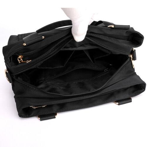 Details about  /Messenger bag canvas bag fashion portable briefcase