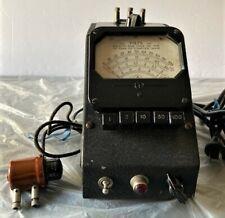 Vintage Electronics Measurements Corp Vacuum Tube Voltmeter 62 Serial 465 Rare