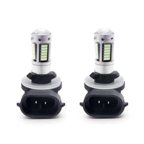 White Projector Lens LED Fog Light Bulb For Hyundai Veloster 2012 13 14 15 16 17